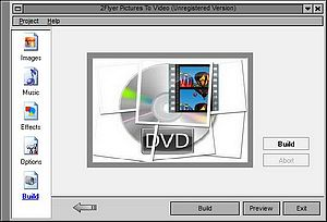 Make quality video from pictures and music